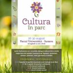 afis Cultura in Parc